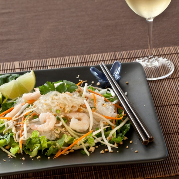 asian glass noodle salad