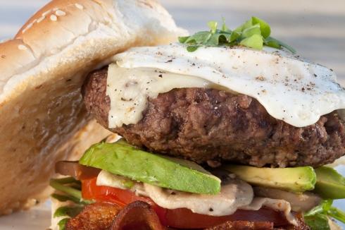 Ultimate Egg burger