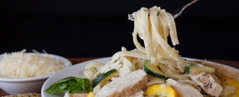 Chicken Zucchini Fettuccine Alfredo 5