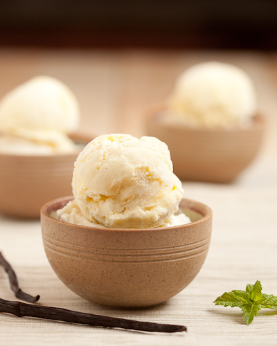 Creamy Dreamy Vanilla Bean Ice Cream