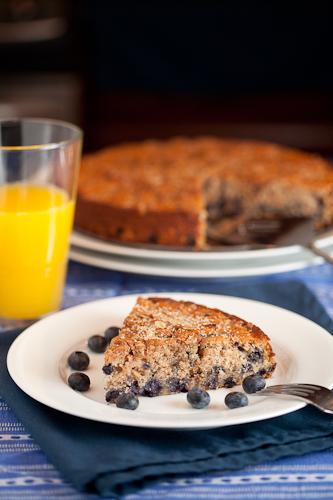 Blueberry Spice Breakfast Cake