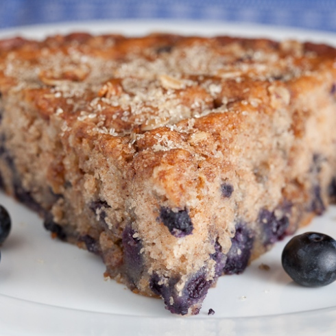 Blueberry Spice Breakfast Cake