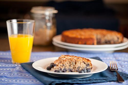 Bluberry Spice Breakfast Cake
