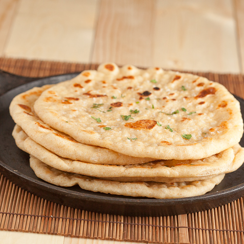 Pan Grilled Flatbread, Like Naan - Chew Out Loud