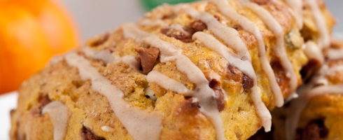 Favorite Pumpkin Scones