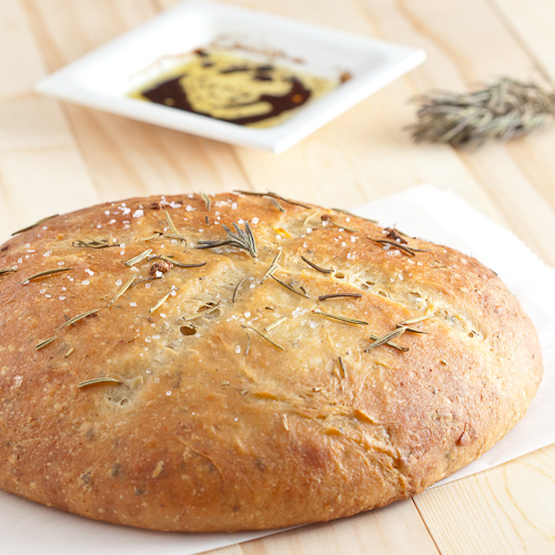 Rustic Rosemary Garlic Bread