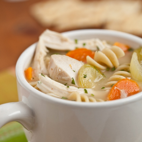 Turkey/Chicken Noodle Soup