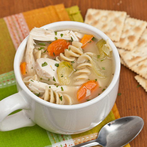 Turkey/Chicken Noodle Soup