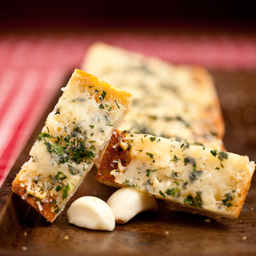 Easy Cheesy Garlic Bread 3