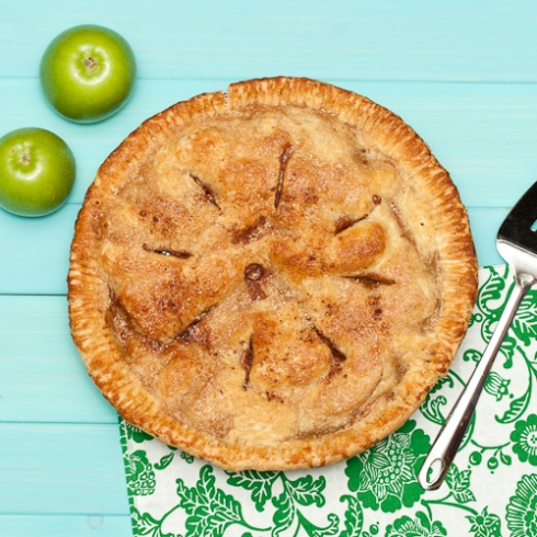 Perfect Apple Pie with Flaky Butter Crust