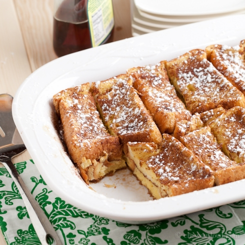 Texas French Toast Bake, 2