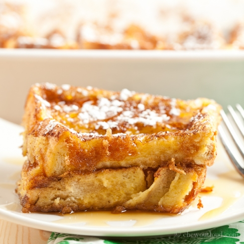 Texas French Toast Bake 4