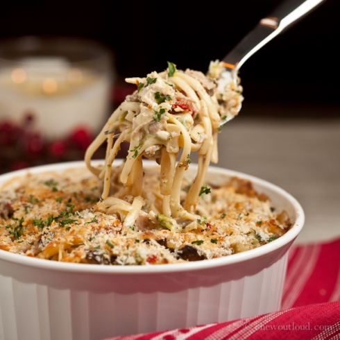 Turkey or Chicken Tetrazzini 3