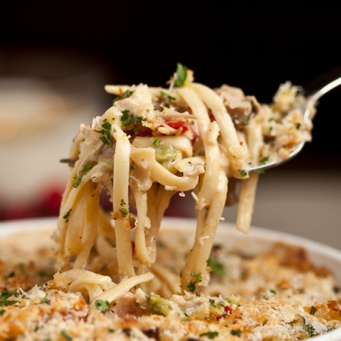 Turkey or Chicken Tetrazzini 4