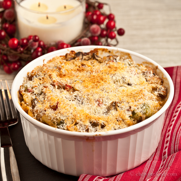Turkey or Chicken Tetrazzini