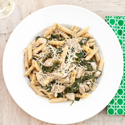 Chicken Florentine Pesto Pasta 2
