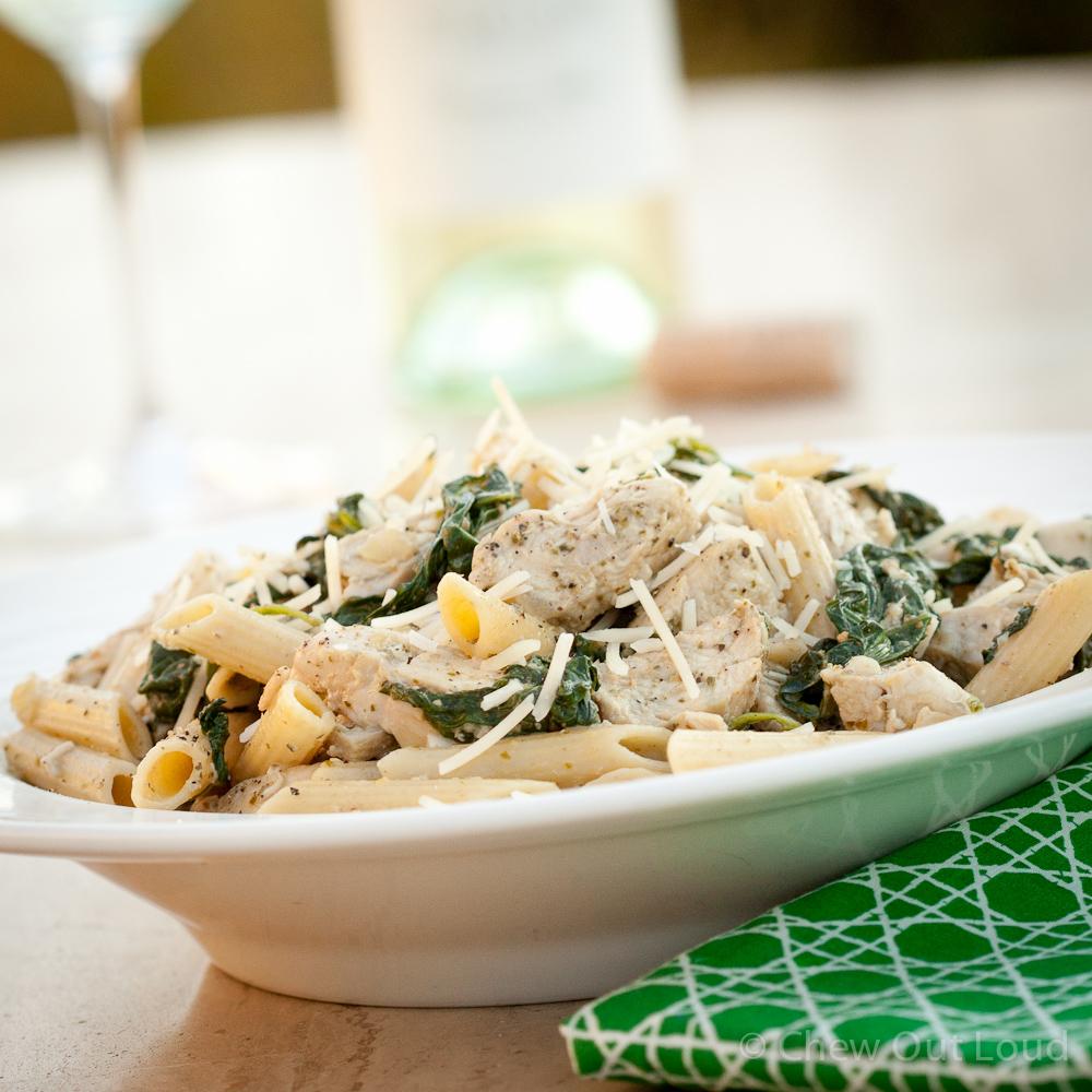 Chicken Florentine Pesto Pasta 3