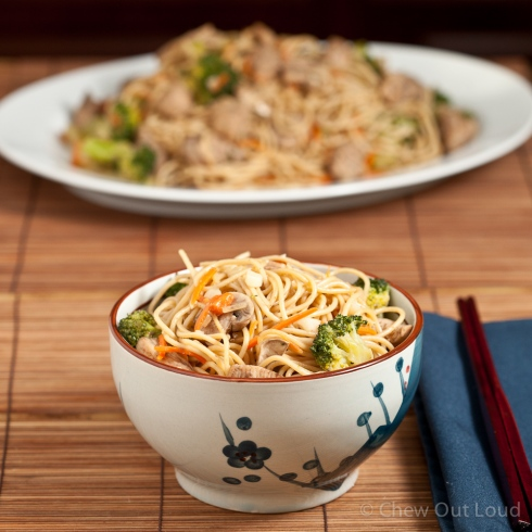 Homestyle Chicken Chow Mein 3