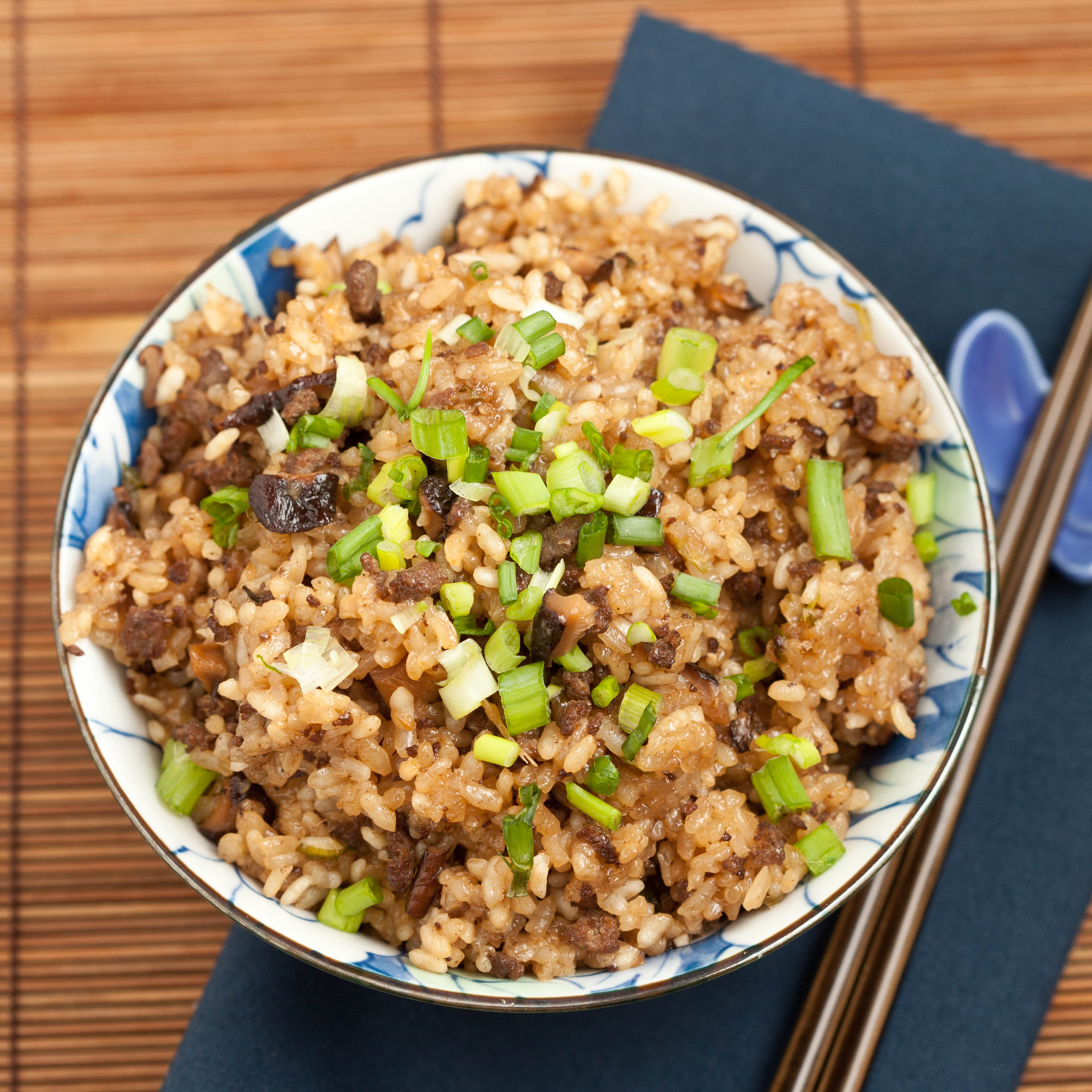 Asian Sticky Rice - Chew Out Loud