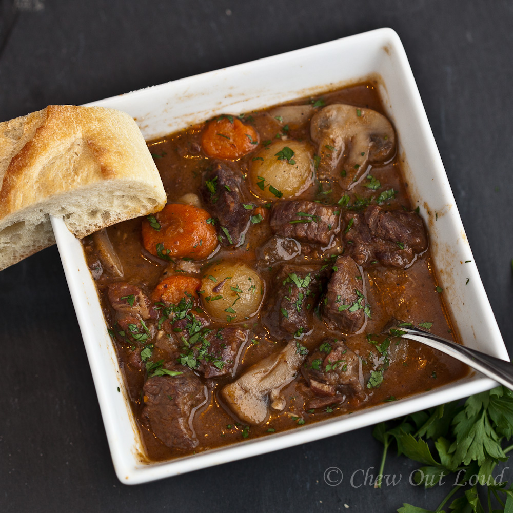 Boeuf Bourguignon French beef stew 2