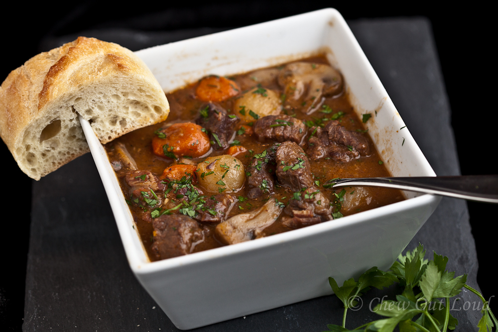 Boeuf Bourguignon French beef stew