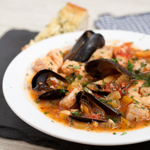 Cioppino - Seafood Stew - Chew Out Loud