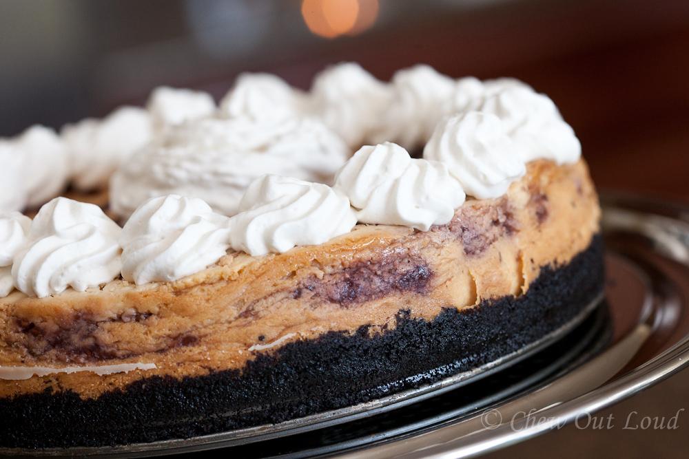 White Chocolate Raspberry Cheesecake 2