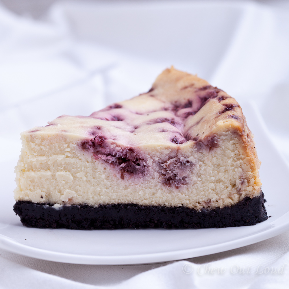 White Chocolate Raspberry Cheesecake - Chew Out Loud