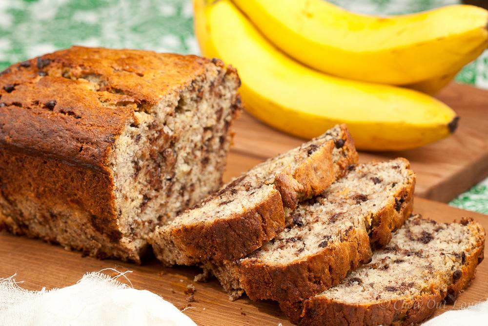 Yogurt Banana Chocolate Bread 4