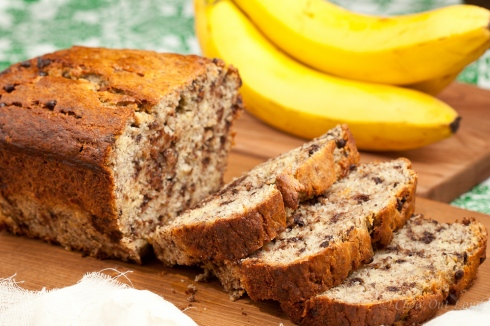 Yogurt Banana Chocolate Bread 4