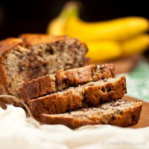 Yogurt Banana Chocolate Chip Bread 2