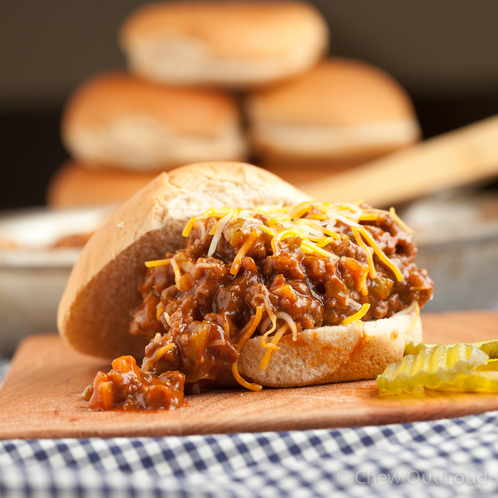 Hearty Sloppy Joes 2