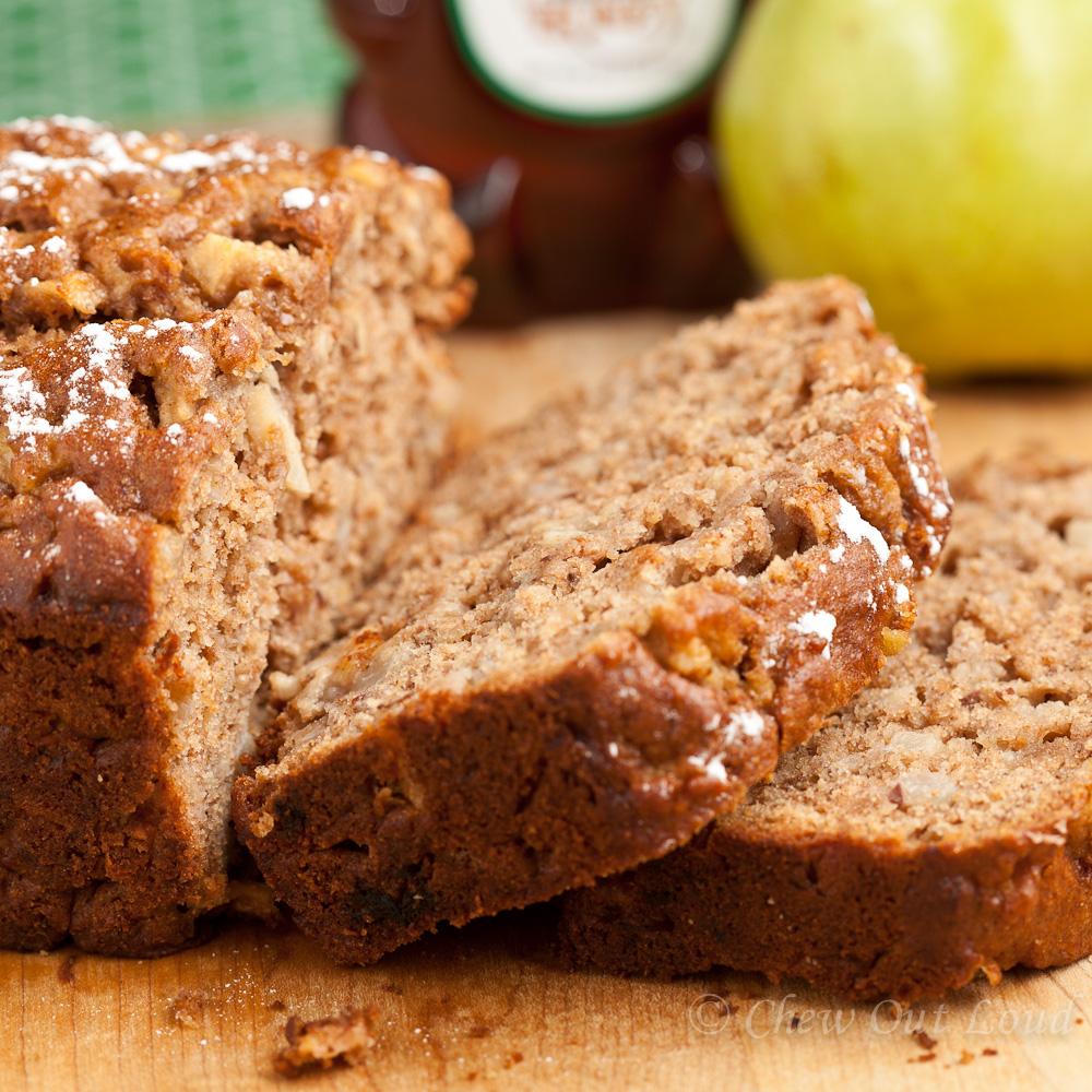 Honey Pear Bread 3