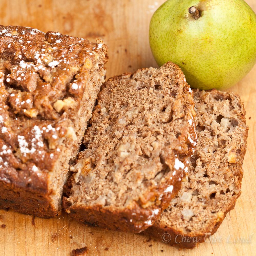 Honey Pear Bread 4