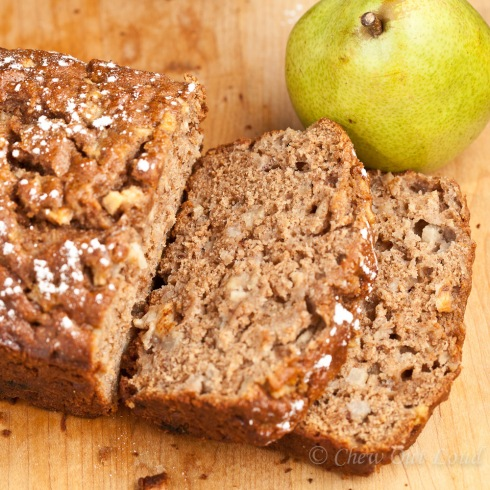 Honey Pear Bread 4