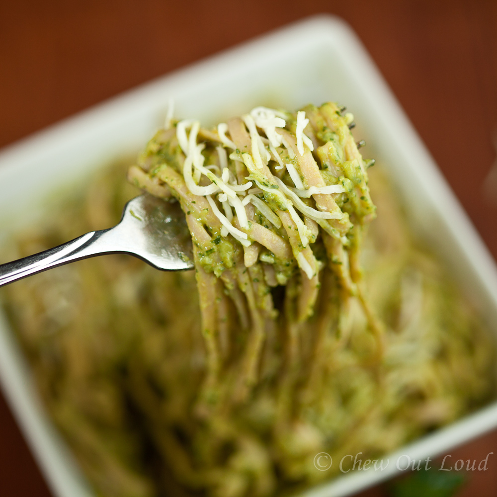 Creamy Avocado Pasta - Chew Out Loud