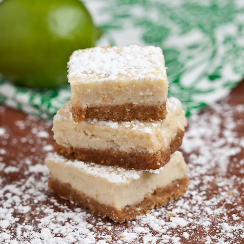 Luscious Key Lime Bars - Chew Out Loud