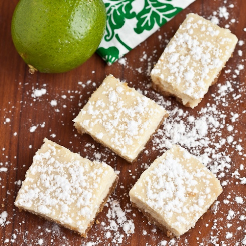 Luscious Lime Bars Cooks Illustrated