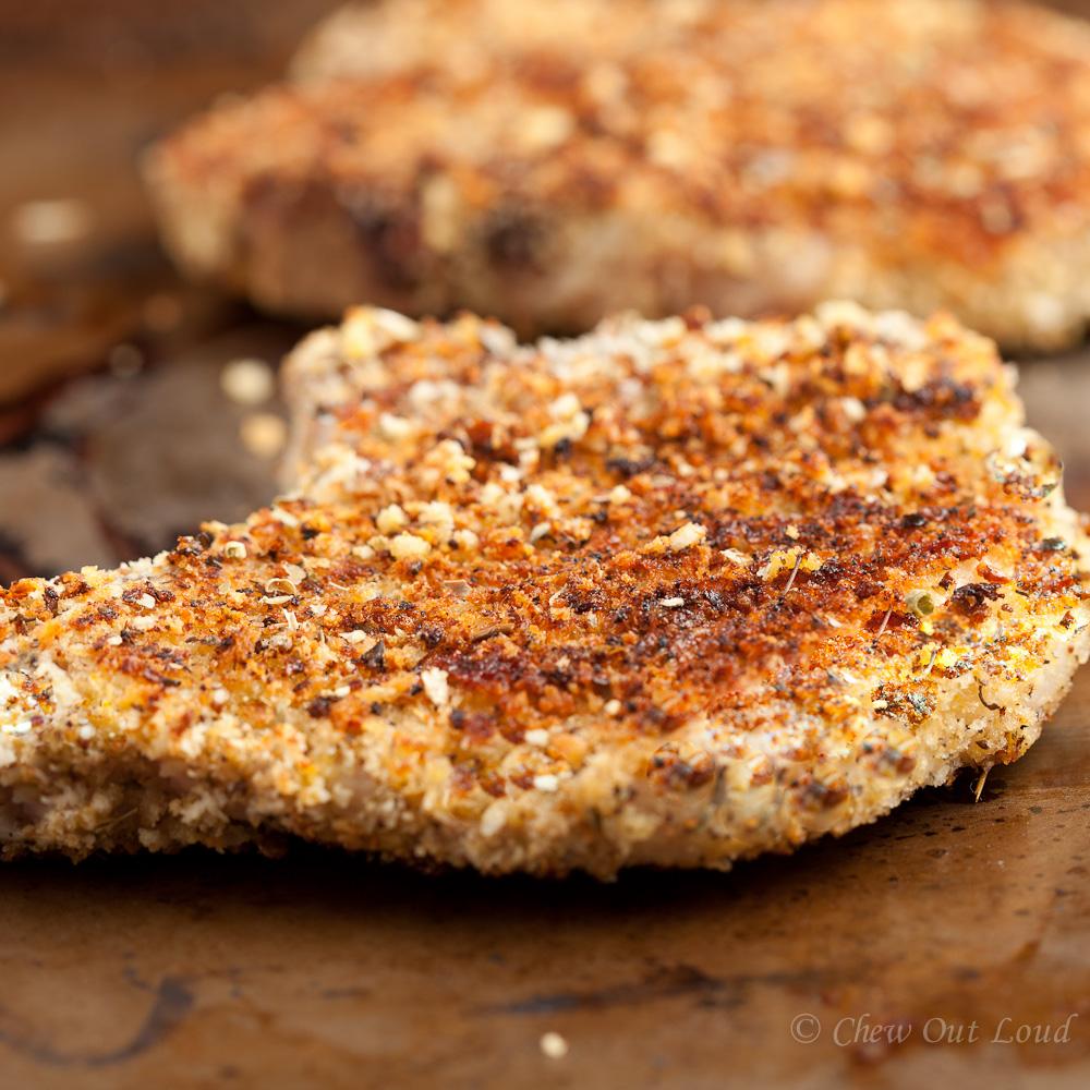 Panko Parmesan Crusted Pork Chops 2