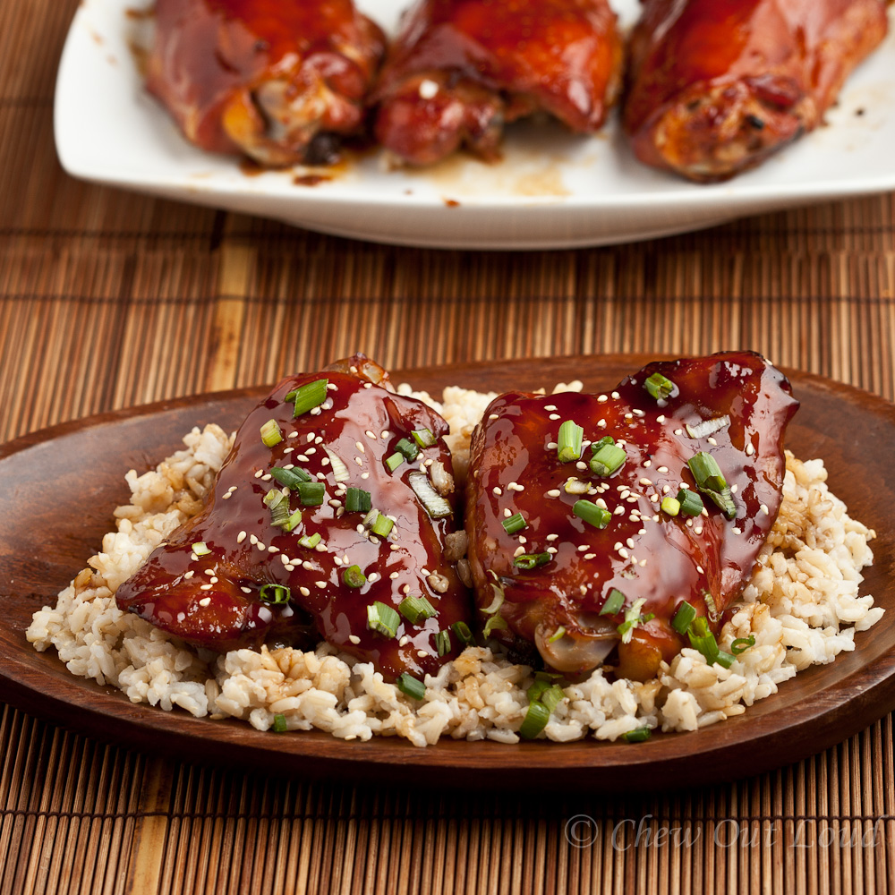 Baked Teriyaki Chicken - Chew Out Loud
