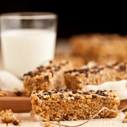 chewy chocolate chip granola bars 2