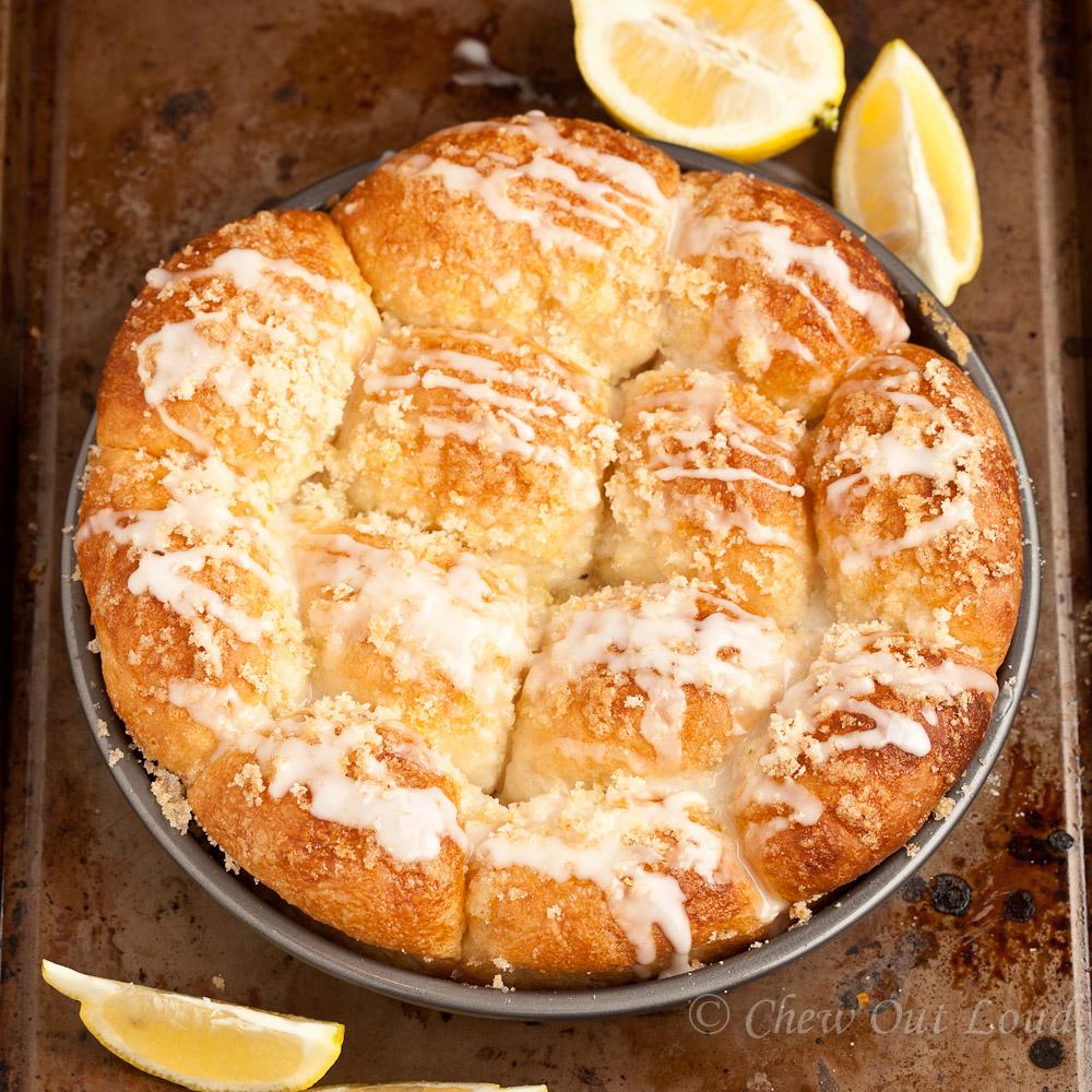 Lemon Monkey Bread 2