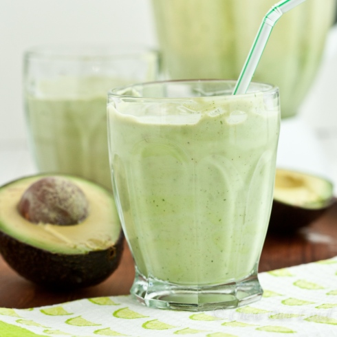 Avocado Coconut Smoothie 5