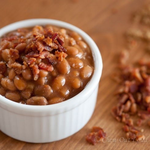 Brown Sugar BBQ Baked Beans 4