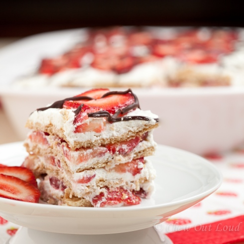 Strawberry Icebox Cake 2