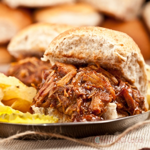 Smoky BBQ Pulled Chicken 3